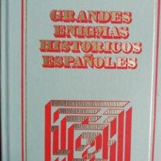 Libros de segunda mano: GRANDES ENIGMAS HISTÓRICOS ESPAÑOLES. Lote 170527892