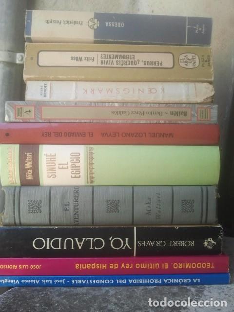 NOVELA HISTÓRICA - BUEN LOTE DE LIBROS - VER FOTOS (Libros de Segunda Mano (posteriores a 1936) - Literatura - Narrativa - Novela Histórica)