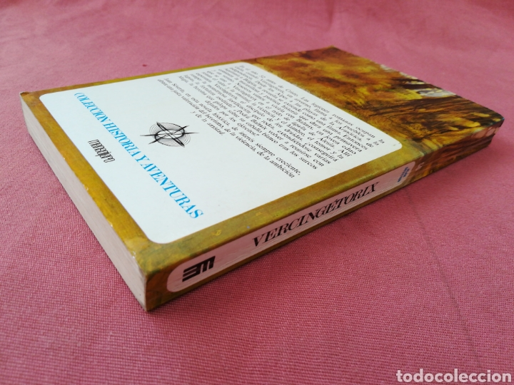 Libros de segunda mano: VERCINGETORIX. COL. HISTORIA Y AVENTURAS. JEAN SEVERIN. GALIA. IMPERIO ROMANO - Foto 2 - 171653965