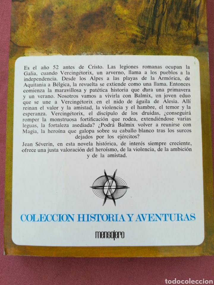 Libros de segunda mano: VERCINGETORIX. COL. HISTORIA Y AVENTURAS. JEAN SEVERIN. GALIA. IMPERIO ROMANO - Foto 4 - 171653965