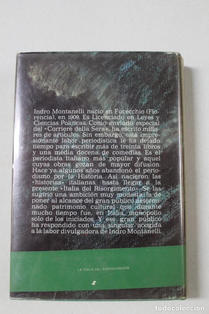 Libros de segunda mano: La Italia el Risorgimento dese la Carboneria hasta Victor Manuel - Foto 2 - 172062349