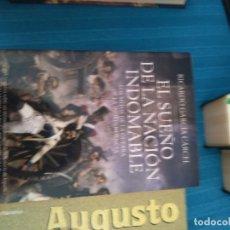 Livros em segunda mão: EL SUEÑO DE LA NACIÓN INDOMABLE RICARDO GARCIA CARCEL LOS MITOS DE LA GUERRA DE LA INDEPENDENCI *GIJ. Lote 184688472