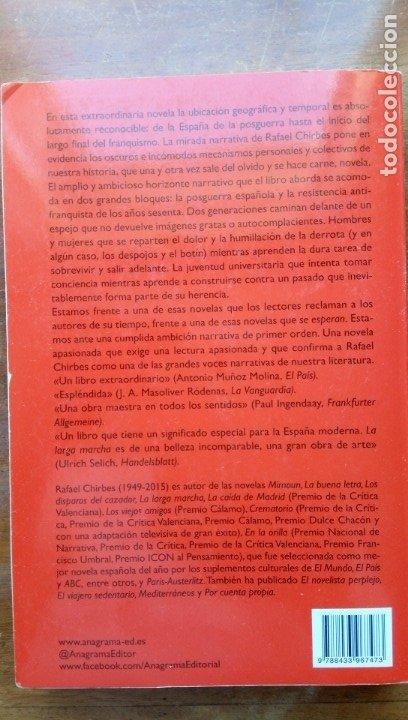 Libros de segunda mano: La larga marcha Rafael Chirbes - Foto 3 - 174178470