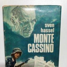 Libros de segunda mano: SVEN HASSEL. MONTE CASSINO. 1969. Lote 175034350