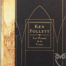 Libros de segunda mano: LOS PILARES DE LA TIERRA - KEN FOLLETT. Lote 175388298