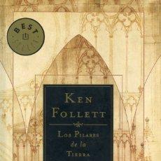 Libros de segunda mano: LOS PILARES DE LA TIERRA. KEN FOLLETT.. Lote 175520208