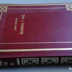 Libros de segunda mano: GUERRA Y PAZ - TOMO I - LEON TOLSTOI - EDICIONES PETRONIO/ CAJA 125A. Lote 176024890