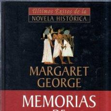 Libros de segunda mano: MEMORIAS DE CLEOPATRA. LA REINA DEL NILO. MARGARET GEORGE. 2001.. Lote 176822338