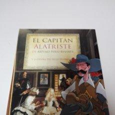 Libros de segunda mano: LIBRO/COMIC-EL CAPITÁN ALATRISTE Y EL SIGLO DE ORO-ARTURO PEREZ REVERTE-EL PAÍS-NUEVO-IMPOLUTO. Lote 177748137