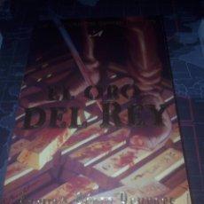 Libros de segunda mano: EL ORO DEL REY ARTURO PÉREZ REVERTE EL CAPITAN ALATRISTE. Lote 178228168