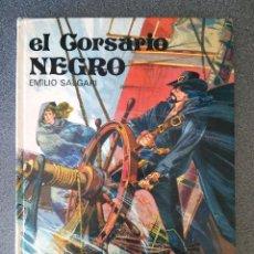 Libros de segunda mano: EL CORSARIO NEGRO EMILIO SALGARI. Lote 178326742