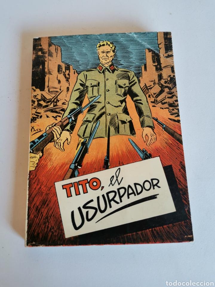 TITO, EL USURPADOR - SERGIO CAPLAN (1954) (Libros de Segunda Mano (posteriores a 1936) - Literatura - Narrativa - Novela Histórica)
