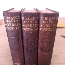 Libros de segunda mano: VICENTE BLASCO IBÁÑEZ. Lote 178926562