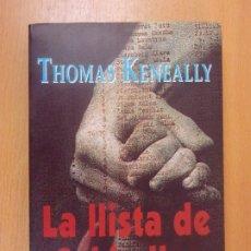 Libros de segunda mano: LA LLISTA DE SCHINDLER / THOMAS KENEALLY / 1994. COLUMNA / IDIOMA CATALÁN. Lote 179154612
