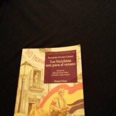 Libros de segunda mano: LAS BICICLETAS SON PARA EL VERANO - FERNANDO FERNÁN-GÓMEZ. Lote 179336615
