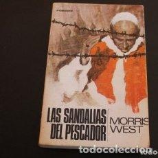 Libros de segunda mano: LAS SANDALIAS DEL PESCADOR. Lote 180271881