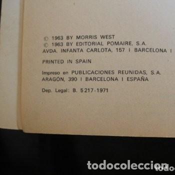 Libros de segunda mano: las sandalias del pescador - Foto 2 - 180271881