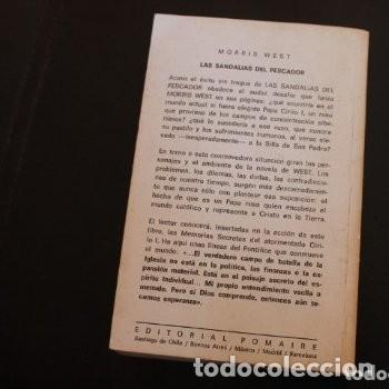 Libros de segunda mano: las sandalias del pescador - Foto 4 - 180271881