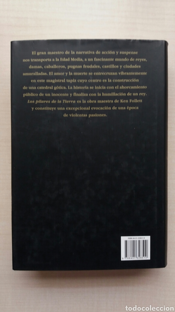 Libros de segunda mano: Los pilares de la tierra. Ken Follet. - Foto 4 - 180866112