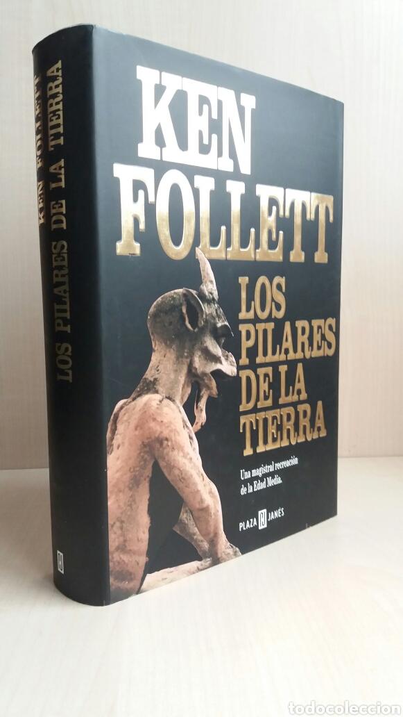 Libros de segunda mano: Los pilares de la tierra. Ken Follet. - Foto 5 - 180866112
