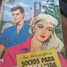 Libros de segunda mano: SOCIOS PARA TODA LA VIDA, ANA MARCELA GARCÍA. N.1111-645. Lote 181012935