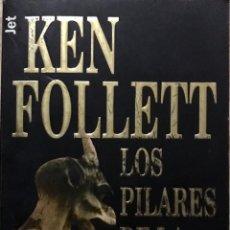 Libros de segunda mano: LIBRO KEN FOLLET - LOS PILARES DE LA TIERRA. Lote 181391941