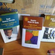 Libros de segunda mano: NOVELA CASTELLANA. COLECCIÓN 130 LIBROS DE LITERATURA.. Lote 181439602