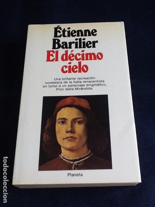 EL DECIMO CIELO. ETIENE BARILIER (Libros de Segunda Mano (posteriores a 1936) - Literatura - Narrativa - Novela Histórica)