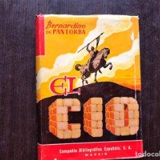 Libros de segunda mano: EL CID. BERNARDINO DE PANTORBE. Lote 182653677