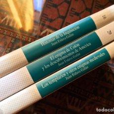 Libros de segunda mano: JUAN ESLAVA GALÁN. TRES LIBROS. Lote 182739055