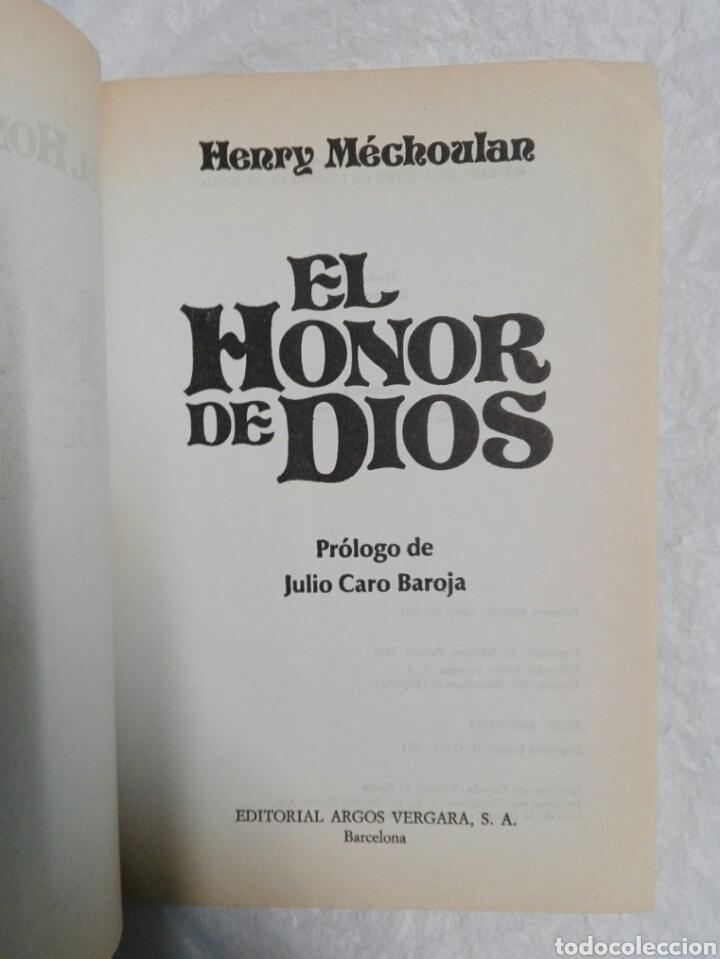 Libros de segunda mano: EL HONOR DE DIOS, INDIOS JUDIOS Y MORISCOS EN EL SIGLO DE ORO - Foto 3 - 183529526