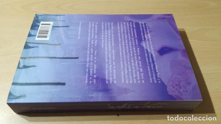 Libros de segunda mano: SECRETOS EN VENECIA - ANA ROSENROT - / H504 - Foto 2 - 183642063