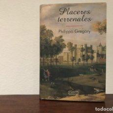 Libros de segunda mano: PLACERES TERRENALES. PHILIPPA GREGORY. EMECÉ. INGLATERRA SIGLO XVII. AMOR. INTRIGA. NUEVO. Lote 183950290