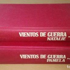 Libros de segunda mano: VIENTOS DE GUERRA 1 Y 2 - HERMAN WOUK - NATALIE - PAMELA/ J402. Lote 184436077