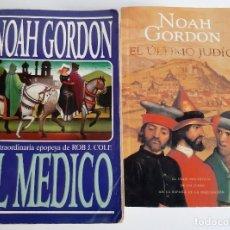 Libros de segunda mano: NOAH GORDON - EL MEDICO + EL ÚLTIMO JUDÍO. Lote 184583525