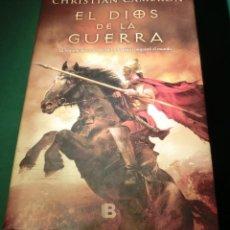 Libros de segunda mano: EL DIOS DE LA GUERRA - CHRISTIAN CAMERON (LIBRO MUY BUEN ESTADO). Lote 184899753