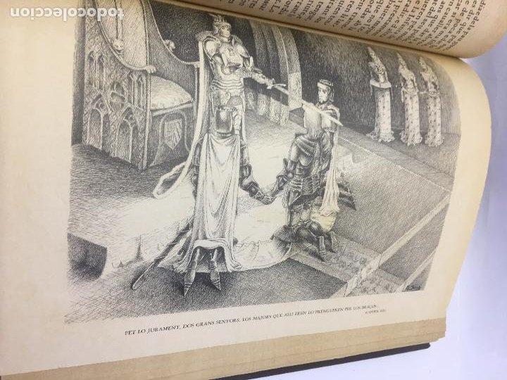 Libros de segunda mano: TIRANT LO BLANCH, DE JOHANOT MARTORELL I MARTI JHAN DE GALBA, 2 VOLUMEN, LUJOSOS Y EDICION NUMERADA - Foto 17 - 185925361