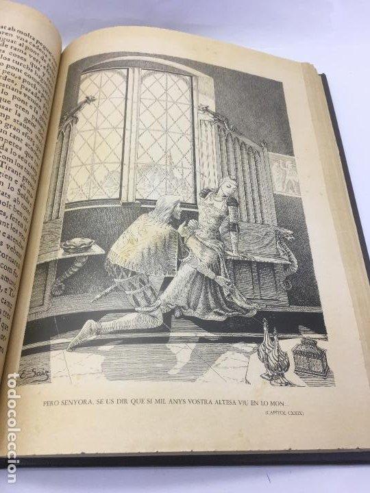Libros de segunda mano: TIRANT LO BLANCH, DE JOHANOT MARTORELL I MARTI JHAN DE GALBA, 2 VOLUMEN, LUJOSOS Y EDICION NUMERADA - Foto 21 - 185925361