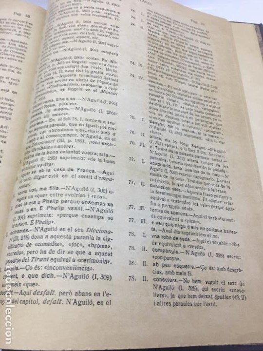 Libros de segunda mano: TIRANT LO BLANCH, DE JOHANOT MARTORELL I MARTI JHAN DE GALBA, 2 VOLUMEN, LUJOSOS Y EDICION NUMERADA - Foto 27 - 185925361