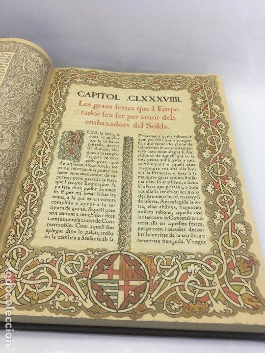 Libros de segunda mano: TIRANT LO BLANCH, DE JOHANOT MARTORELL I MARTI JHAN DE GALBA, 2 VOLUMEN, LUJOSOS Y EDICION NUMERADA - Foto 38 - 185925361