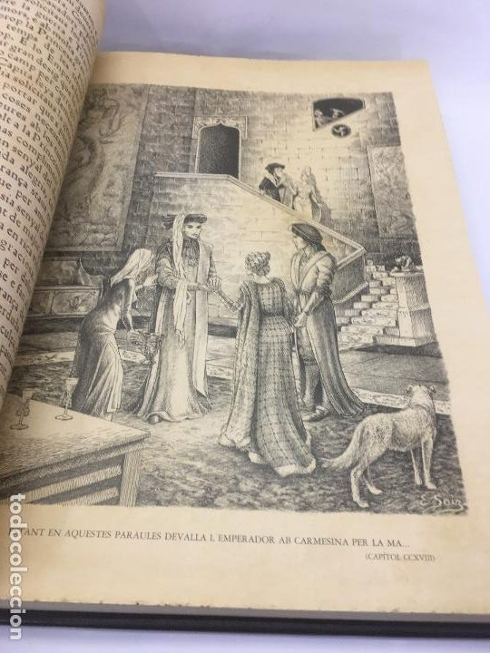 Libros de segunda mano: TIRANT LO BLANCH, DE JOHANOT MARTORELL I MARTI JHAN DE GALBA, 2 VOLUMEN, LUJOSOS Y EDICION NUMERADA - Foto 40 - 185925361