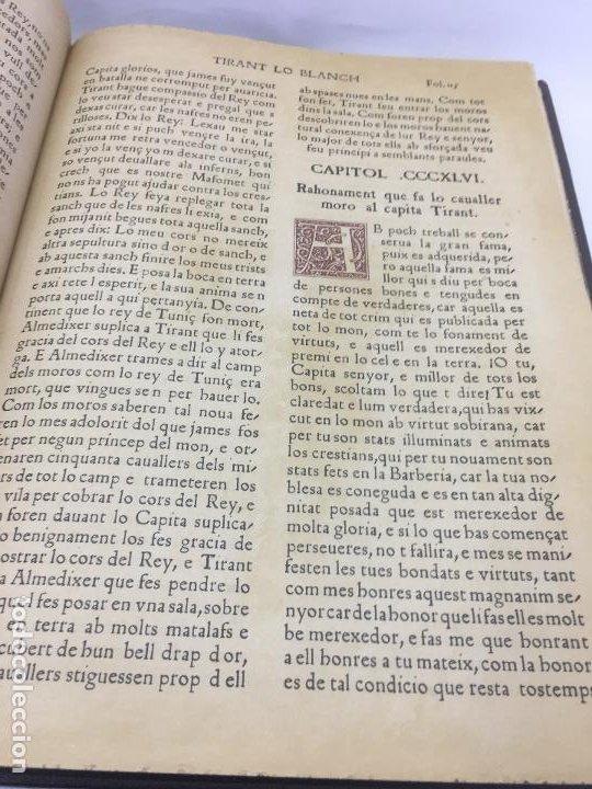 Libros de segunda mano: TIRANT LO BLANCH, DE JOHANOT MARTORELL I MARTI JHAN DE GALBA, 2 VOLUMEN, LUJOSOS Y EDICION NUMERADA - Foto 45 - 185925361