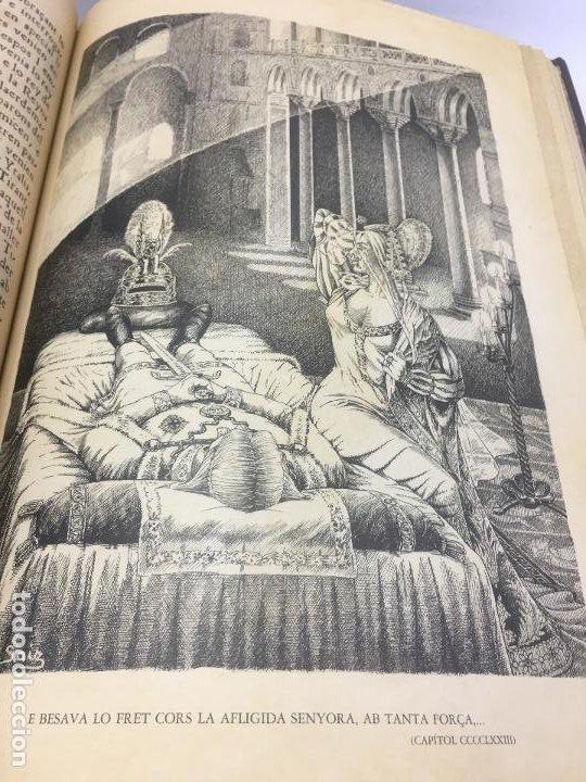 Libros de segunda mano: TIRANT LO BLANCH, DE JOHANOT MARTORELL I MARTI JHAN DE GALBA, 2 VOLUMEN, LUJOSOS Y EDICION NUMERADA - Foto 46 - 185925361