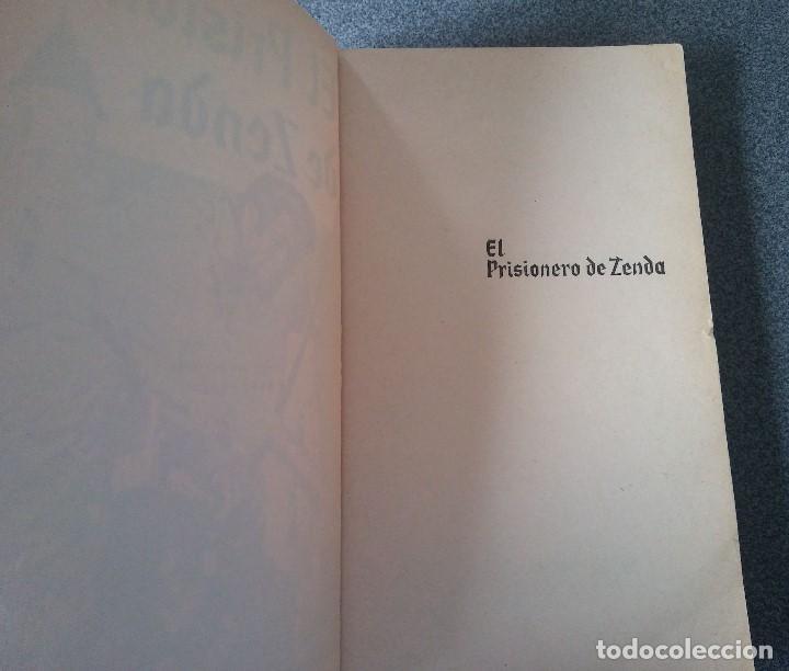 Libros de segunda mano: El Prisionero de Zenda Antonio Hope - Foto 4 - 186266545