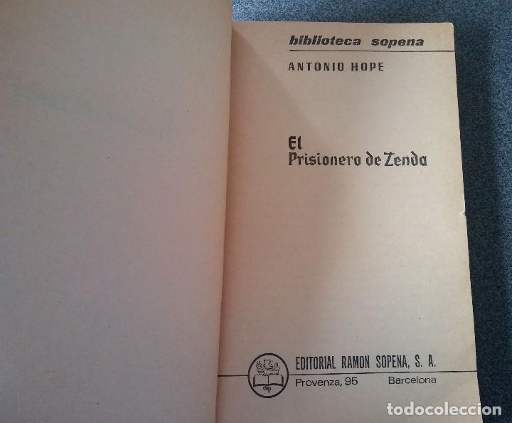 Libros de segunda mano: El Prisionero de Zenda Antonio Hope - Foto 5 - 186266545
