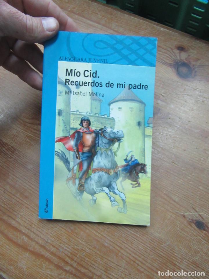 MÍO CID, RECUERDOS DE MI PADRE, Mª ISABEL MOLINA. L.809-1663 (Libros de Segunda Mano (posteriores a 1936) - Literatura - Narrativa - Novela Histórica)