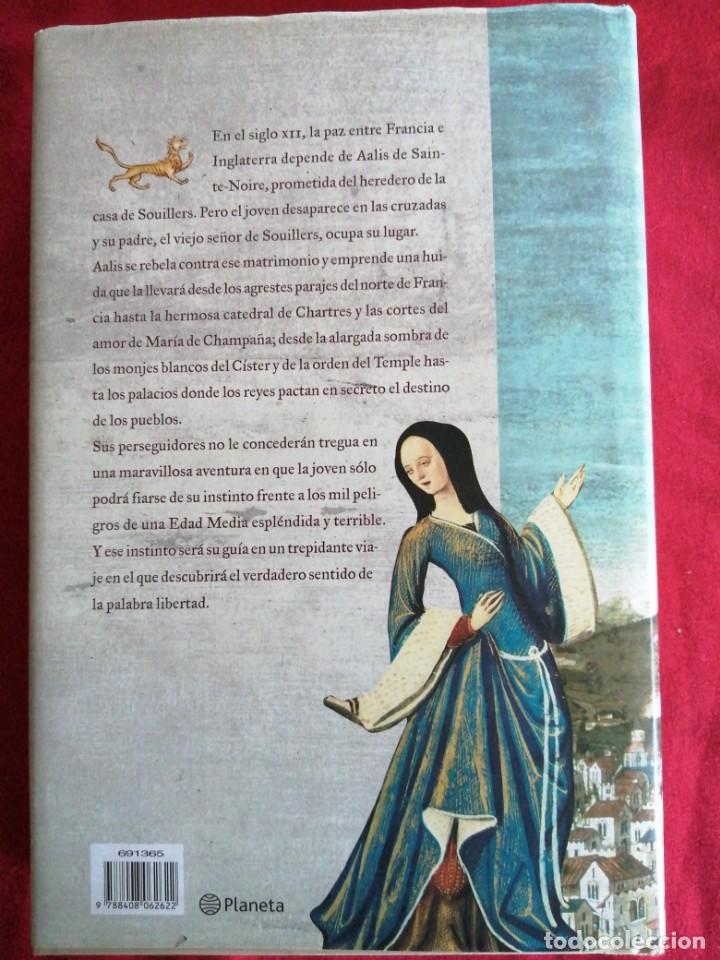 Libros de segunda mano: LA DAMA Y EL LEON. CLAUDIA CASANOVA. - Foto 3 - 187434388