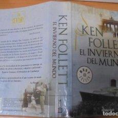 Libros de segunda mano: EL INVIERNO DEL MUNDO. KEN FOLLETT BEST SELLER DEBOLSILLO. Lote 187643336