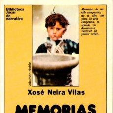 Libros de segunda mano: MEMORIAS DE UN NIÑO CAMPESINO. NEIRA VILAS, X. [ED. JÚCAR, 1987]. Lote 206903325
