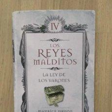 Libros de segunda mano: LA LEY DE LOS VARONES, MAURICE DRUON. Lote 189240242